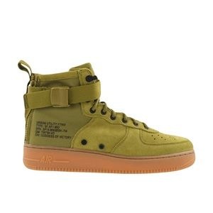 Nike SF Air Force 1 Shoe Desert Moss